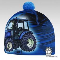 Flavio - zimní funkční čepice - vzor 87