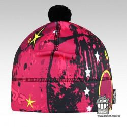 Flavio - zimní funkční čepice - vzor 90