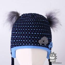 Laponka pletená Miky- vzor 03