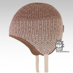 Laponka pletená kojenecká - vzor 01