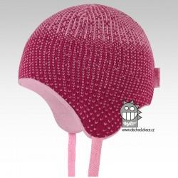 Laponka pletená kojenecká - vzor 03