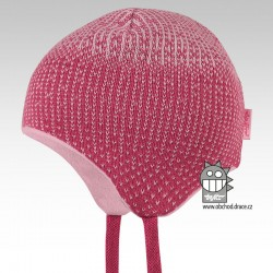 Laponka pletená kojenecká - vzor 04
