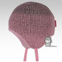 Laponka pletená kojenecká - vzor 09