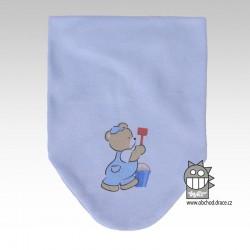 Nákrčník kojenecký bavlna - vzor 01