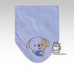 Nákrčník kojenecký bavlna - vzor 02