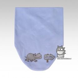 Nákrčník kojenecký bavlna - vzor 03
