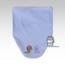 Nákrčník kojenecký bavlna - vzor 04