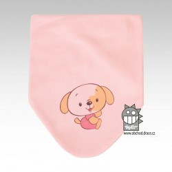 Nákrčník kojenecký bavlna - vzor 06
