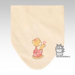 Nákrčník kojenecký bavlna - vzor 09