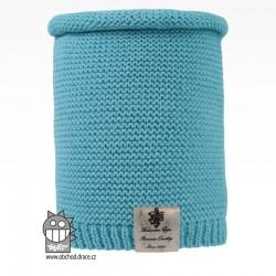 nákrčník pletený Colors - vzor 14