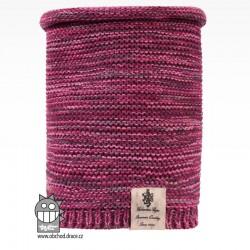 nákrčník pletený Colors - vzor 08