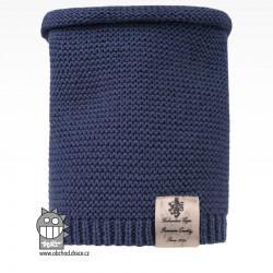 nákrčník pletený Colors - vzor 17