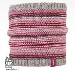 Nákrčník pletený Stripes - vzor 01