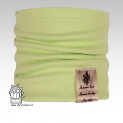 Nákrčník Pastels - vzor 04 - zelenkavá