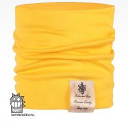 Nákrčník Pastels - vzor 21 - žlutá