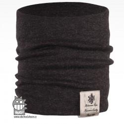 Nákrčník Pastels - vzor 40 - černá melír