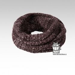 Chomout pletený - vzor 08