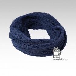 nákrčník chomout pletený 120cm- vzor 10