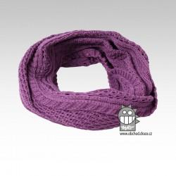 Chomout pletený - vzor 11