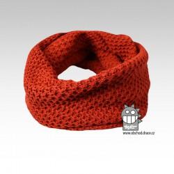 Chomout pletený - vzor 12