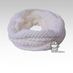 nákrčník chomout pletený 120cm- vzor 19