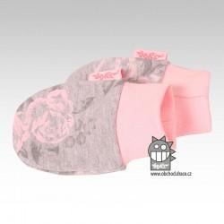 Rukavičky kojenecké 0-3měsíce - vzor 06