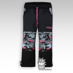 Kalhoty softshell - vzor 03