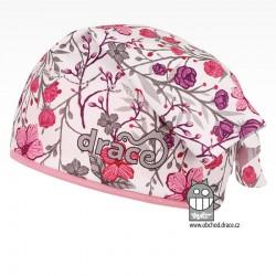 Funkční lehoučký šátek Emily na jaro a léto - vzor 01